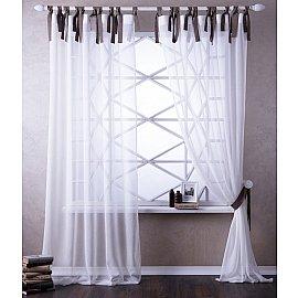 Комплект штор АКСИ, белый, 140*270 см