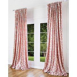 Комплект штор Уильям, розовый, 200*270 см