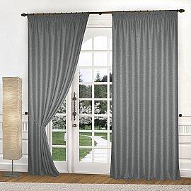 Комплект штор К335-11, мокрый асфальт, 250*240 см