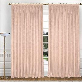 Комплект штор K336-4, розовый, 150*270 см