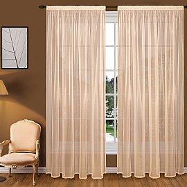Тюль вуаль T102-3, персиковый, 350*290 см