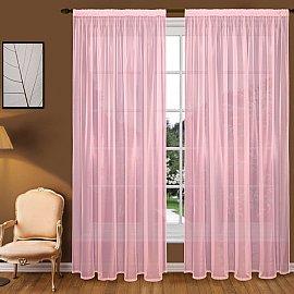 Тюль вуаль T102-9, розовый, 200*240 см
