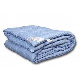 """Одеяло """"Лаванда"""", теплое, голубой, 172*205 см"""