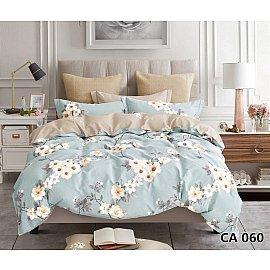 КПБ сатин печатный дизайн 060 (1.5 спальный)