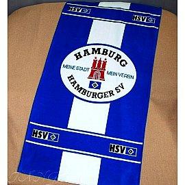 Пляжное полотенце Hamburg, 75*150 см, синий, белый