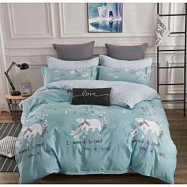 КПБ Сатин Twill дизайн 225 (2 спальный)