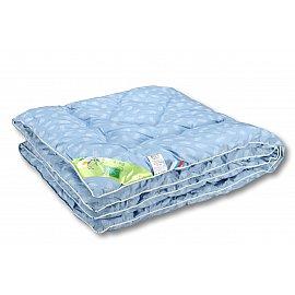 """Одеяло """"Лебяжий пух"""", теплое, голубой, 110*140 см"""