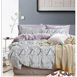 КПБ Сатин печатный дизайн 190 (2 спальный)