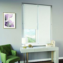 Рулонная штора ролло Breeze, белый, 140 см