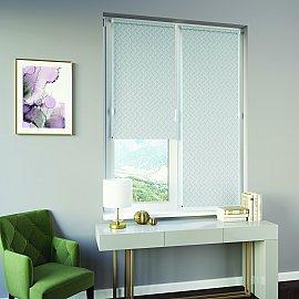 Рулонная штора ролло Breeze, серый, 160 см