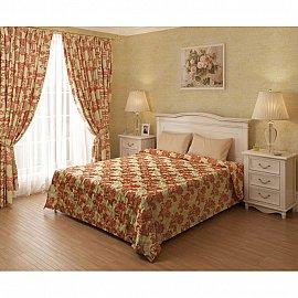 Комплект для спальни Селена, терракотовый