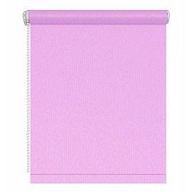Рулонная штора однотонная, лиловый, ширина 48 см