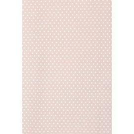Тюль вуаль-сетка горох WG1706-10, розовый