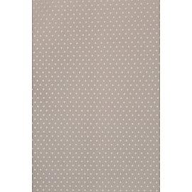 Тюль вуаль-сетка горох WG1706-6, бежевый