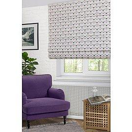 """Римская штора """"Izumi Coord HP"""", серый (gris) 70, ширина 68 см"""