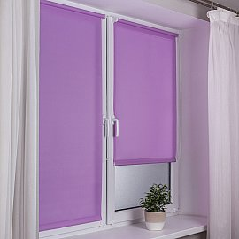 "Рулонная штора ""Сантайм Уни"", лиловый, ширина 52 см"