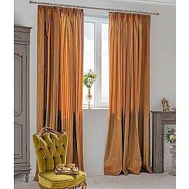 Комплект штор Francesco-700, оранжевый, 250 см