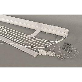 Карниз металлический для римских штор Delfa СК DS 7500R, 100*180 см