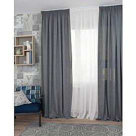 Комплект штор Icaro-70, серый (gris), 160*270 см