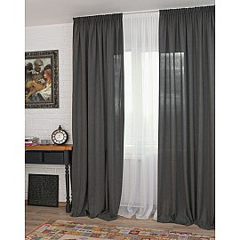 Комплект штор Rulli-70, серый (plata), 160*270 см