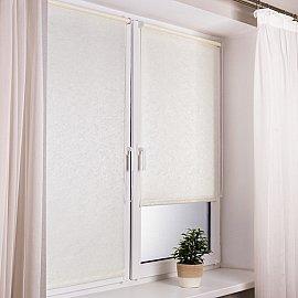 """Рулонная штора """"Венеция"""", белый, ширина 62 см"""