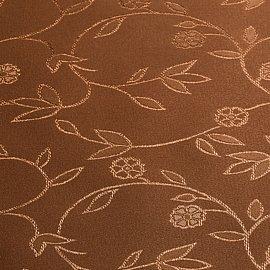 "Рулонная штора ролло ""Сантайм-жаккард Версаль"", какао, ширина 140 см"