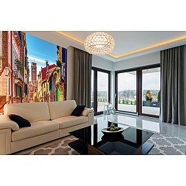 """Фотопанно холст """"Балконы Венеции"""", 300*270 см"""