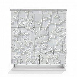 "Рулонная штора ролло лен ""Орнамент"", 160 см"