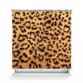 """Рулонная штора ролло термоблэкаут """"Леопардовый принт"""", 120 см"""
