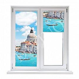 """Рулонная штора лен """"Венеция"""", 68 см"""
