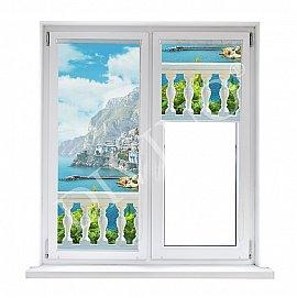 "Рулонная штора лен ""Балкон"", 68 см"