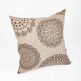 "Декоративная подушка ""Тату""-2, коричневый"