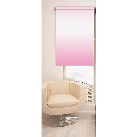 Рулонная штора ролло №376, розовый, 60 см