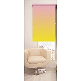 Рулонная штора ролло №378, мультиколор, 60 см