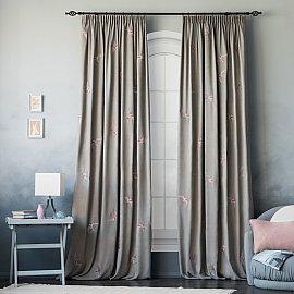 """Комплект штор """"Либерти"""", серый, 145*270 см"""