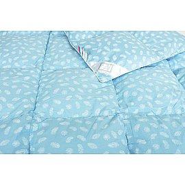 """Одеяло """"Дольче"""", теплое, голубой, 140*205 см"""