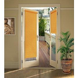"""Рулонная штора для балконной двери """"Апельсин"""", 52 см"""