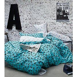 КПБ Сатин Twill дизайн 1025 (1.5 спальный)