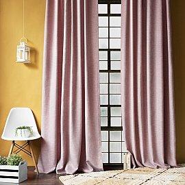 """Комплект штор с подхватами """"Бадди"""", розовый, 140*270 см"""