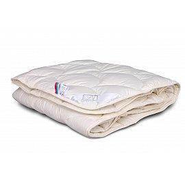 """Одеяло """"Каннабис"""", всесезонное, бежевый, 140*205 см"""