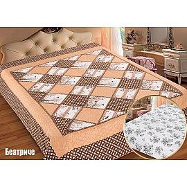 """Одеяло-покрывало I.M.A. Gold """"Беатриче"""", персиковый, белый, 200*220 см"""