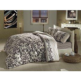 """Комплект постельного белья """"RANFORCE SUAVE"""" 50х70*1 (1.5 спальный), коричневый"""