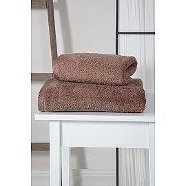 "Полотенце махровое ""KARNA APOLLO"", темно-коричневый, 50*90 см"