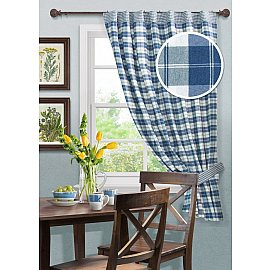 """Шторы для кухни """"Cottage A"""", дизайн 640"""
