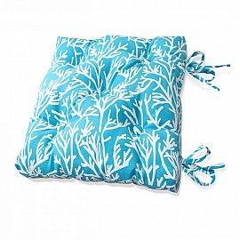 "Подушка на стул ""Sky Corals"", дизайн 140"