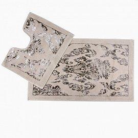 Набор ковриков для ванной Arya Osmanlı (60*100 см; 50*60 см), бежевый