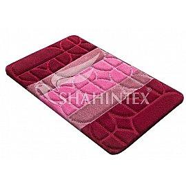Коврик Shahintex PP MIX 4K, бордовый 45, 60*100 см