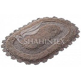 Коврик Shahintex Zefir, кофе с молоком 55, 50*80 см