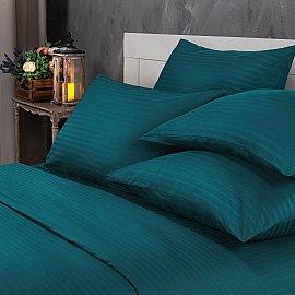 КПБ Verossa Stripe Blumarine в чемодане ПВХ с наволочками 70*70 (1.5 спальный)