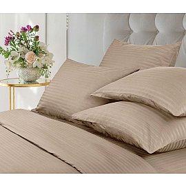 КПБ Verossa Stripe Bronze с наволочками 70*70 (1.5 спальный)